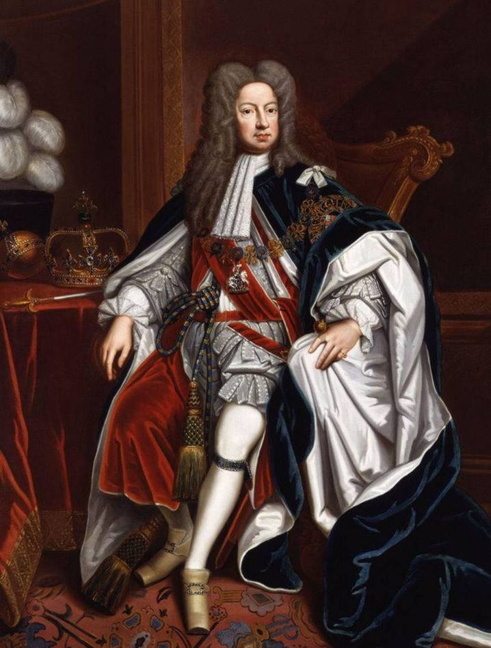George I by Kneller