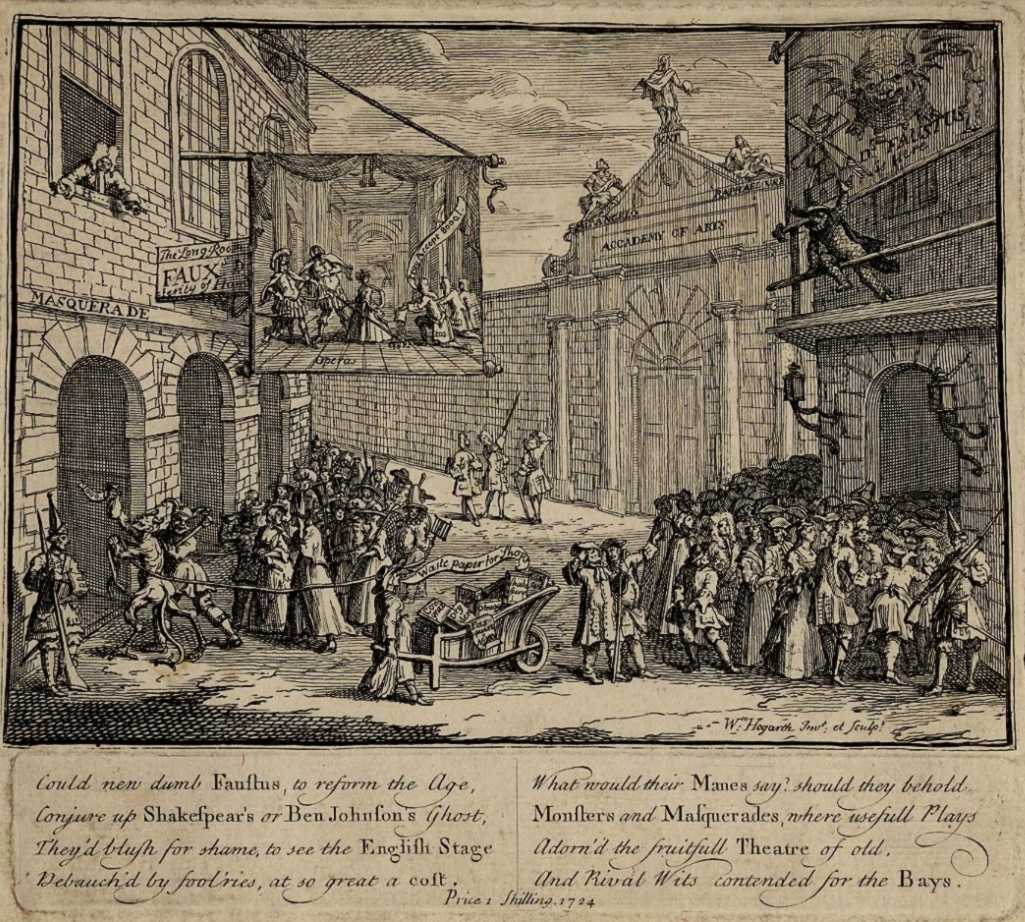Hogarth, satire